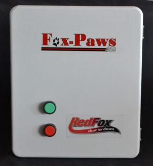 Fox-paws 450 Emergency shutdown Switch